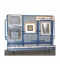 9818 TR Demontierbarer Gemäldewagen mit abnehmbaren Seiten